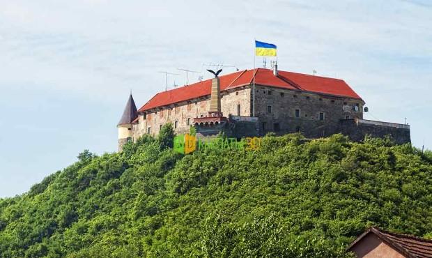 Мукачево замок Паланок Достопримечательности Мукачева